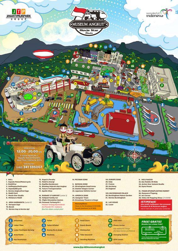 Peta Museum Angkut