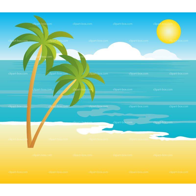 Mewarnai Pemandangan Pantai