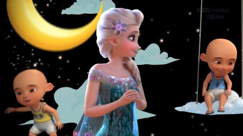 Gambar Frozen dan Upin-ipin
