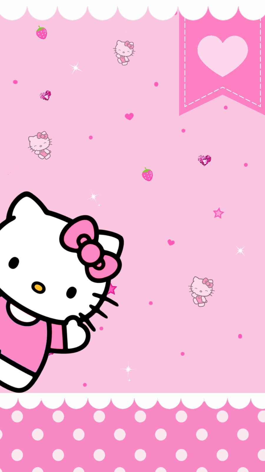 Gambar Hello Kitty Wallpaper