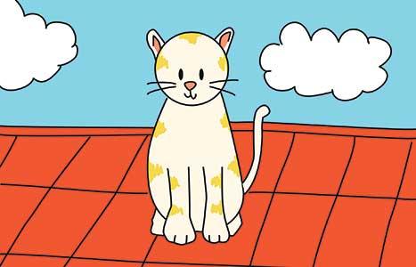 Cara Menggambar Kucing