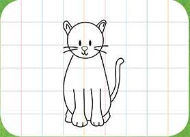 Membuat Anggota Badan Kucing