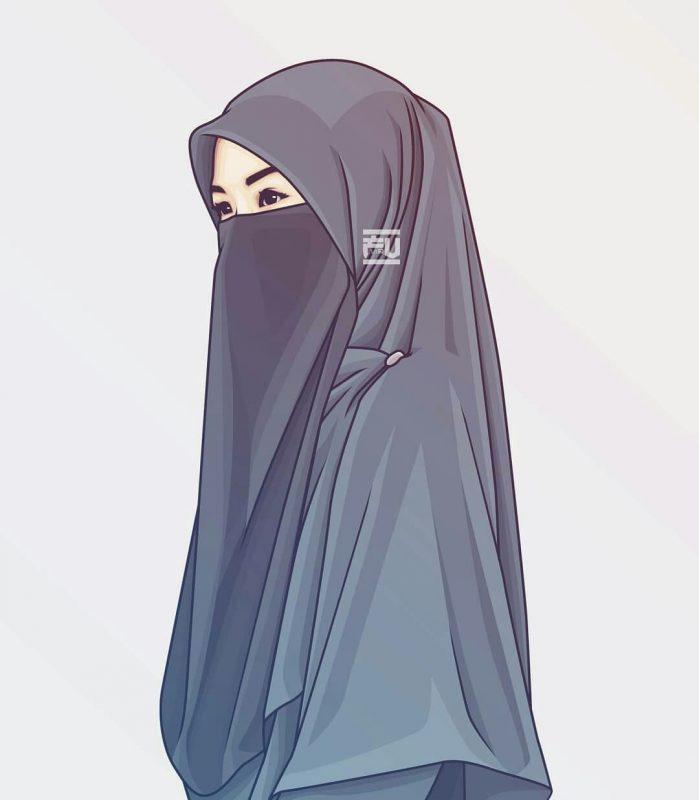 Gambar Muslimah Cantik Terlengkap Menangis Muslimah Kartun Berdo A