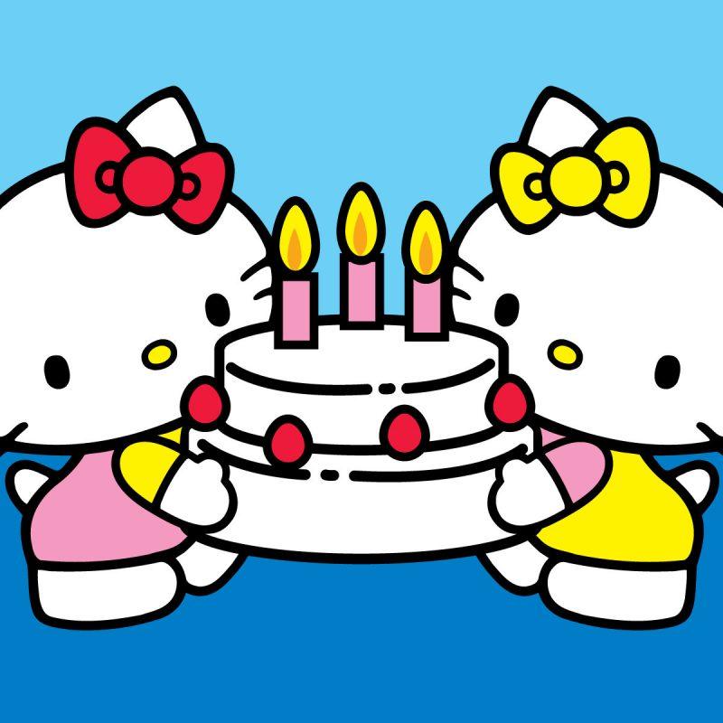 Gambar Hello Kitty Lucu