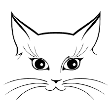 Cara Menggambar Telinga Kucing