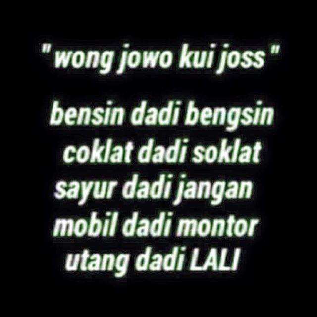 Kumpulan Pantun Bahasa Jawa Terbaru Kocak Lucu Wong Kerjo
