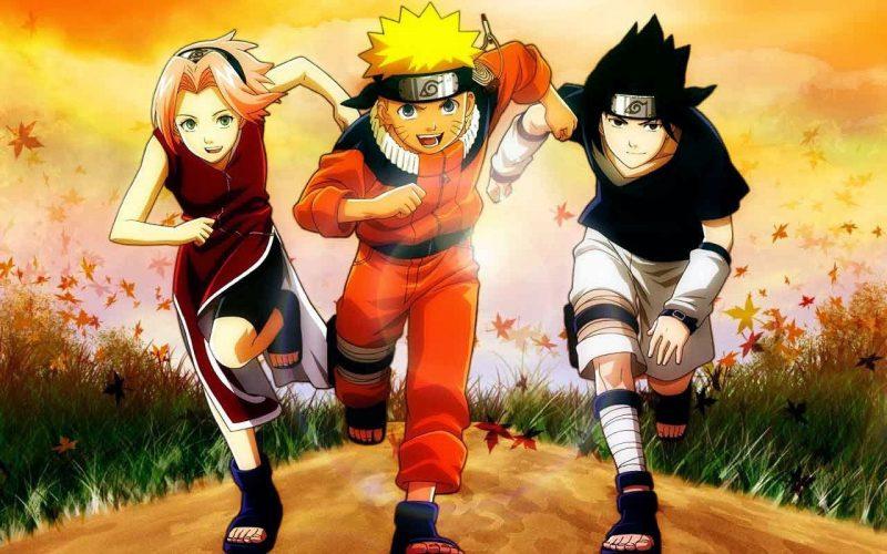 Gambar Naruto Bersama Temanya