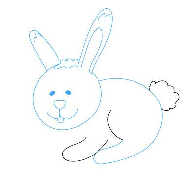 Cara Menggambar Kelinci