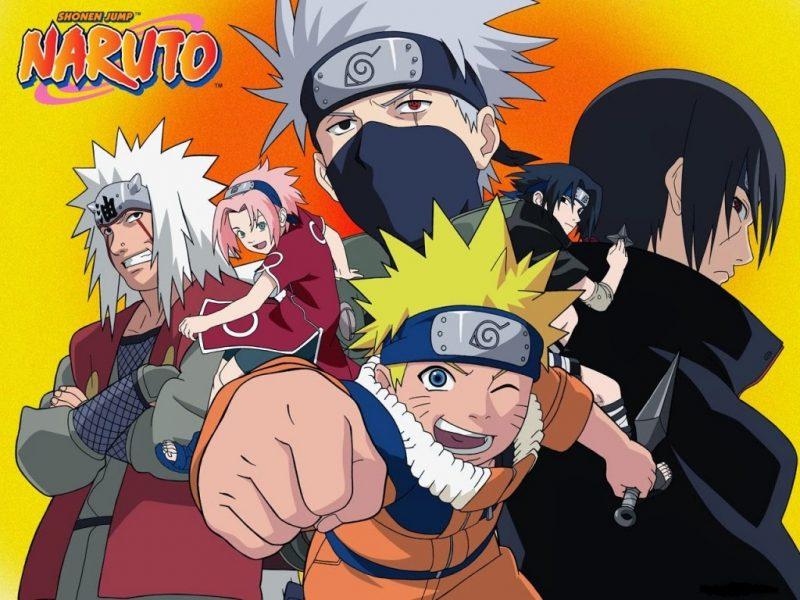 Pertamakali Naruto Masuk Akademi Ninja