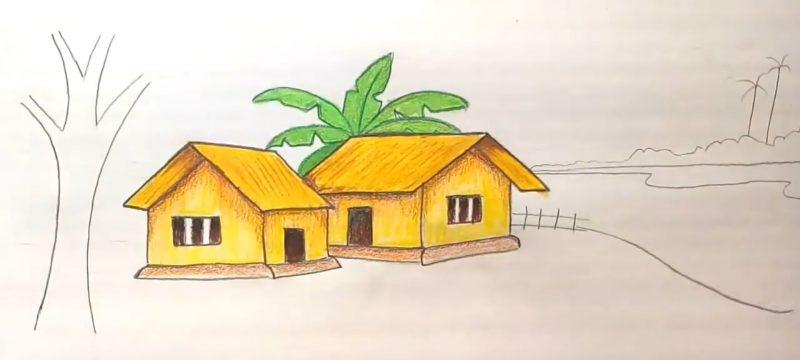 Tips Cara Menggambar Rumah Paling Bagus Mewah Terlengkap Terbaru