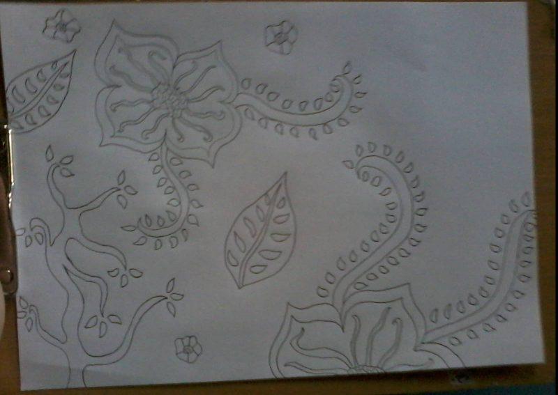 Sketsa Batik Cara Dan Menggambar Batik Mudah Paling Lengkap Terbaru
