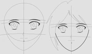 Sketsa Anime Keren