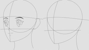 Sketsa Anime Simple
