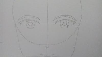 Cara Menggambar Anime Laki Laki
