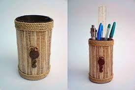 Kerajinan Pensil Dari Pelepah Pisang