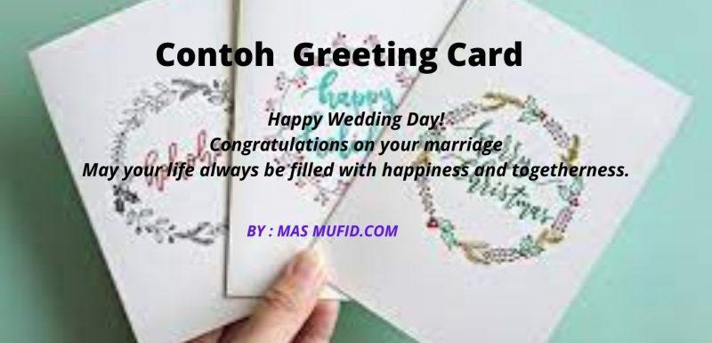 Pengertian Greeting Card