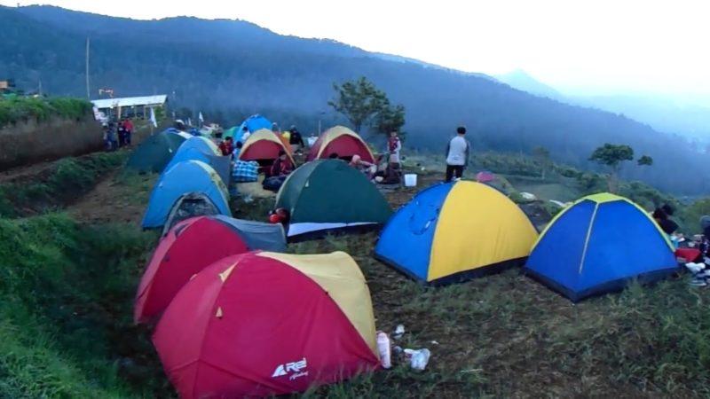 Wisata Camping Paralayang Kemuning Karanganyar